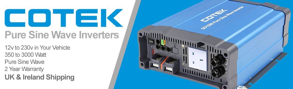 Cotek Pure Sine Wave Inverters