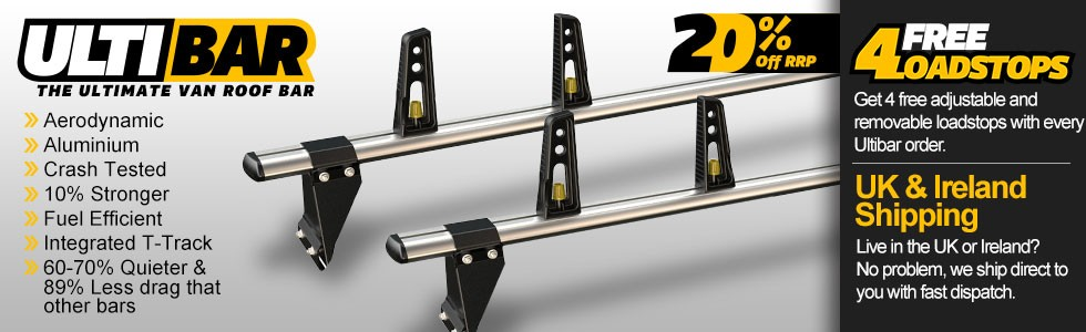 Ultibar Van Roof Bars