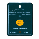Cotek Wired Remote Control - CR-8