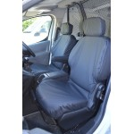 Citroen Berlingo Front Seat Covers - Black