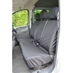 Fiat Scudo Front Seat Covers - Black