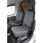 Fiat Fiorino Front Seat Covers - Black