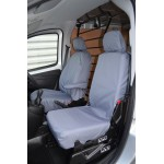 Fiat Fiorino Front Seat Covers - Grey