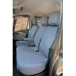 Fiat Talento Front Seat Covers - Grey
