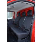 Fiat Talento Front Seat Covers - Black