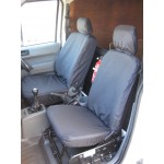 Ford Transit Connect Front Seat Covers - Black