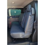Ford Transit Custom Rear Seat Covers - Black