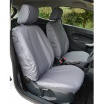 Ford Fiesta Front Seat Covers - Grey