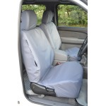 Ford Ranger Front & Rear Seat Covers - Grey