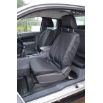 Ford Ranger Front & Rear Seat Covers - Black