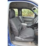 Ford Ranger Front Seat Covers - Black