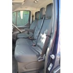 Ford Transit Front Seat Covers - Black