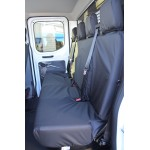 Ford Transit Rear Seat Covers - Black