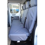 Ford Transit Rear Seat Covers - Grey