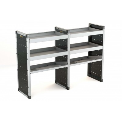 Trade Van Racking - Double Unit with 3 Shelves 1000x1500