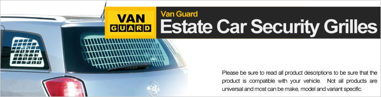 Estate Car Security Grilles